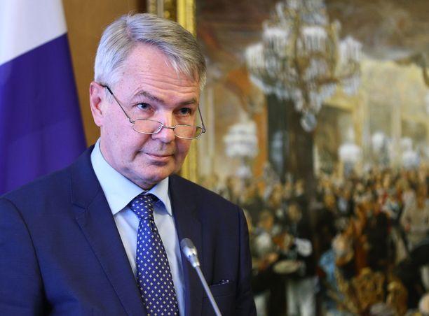 Ulkoministeri Pekka Haavisto tapasi maanantaina Venäjän ulkoministeri Sergei Lavrovin.