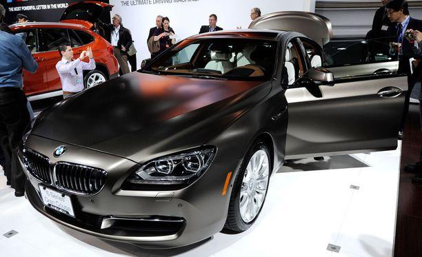BMW:n 6-sarjan Gran Coupé esiteltiin vuonna 2012.