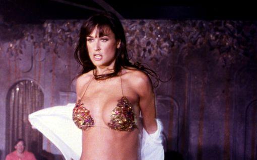 Demi Moore täytti 58 - tytär jakoi rohkean kuvan Striptease-elokuvan kulisseista