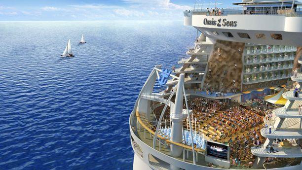 Risteilijän on tarkoitus purjehtia ensi kertaa joulukuun ensimmäisenä päivänä.