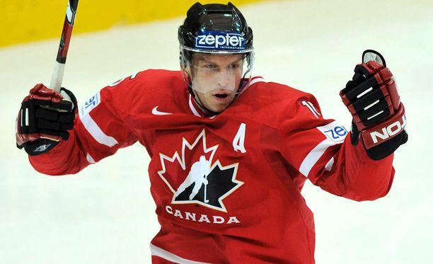 Dany Heatley edusti Kanadaa kuusi kertaa MM-kisoissa, kaksi kedrtaa olympialaisissa ja kerran World Cupissa.