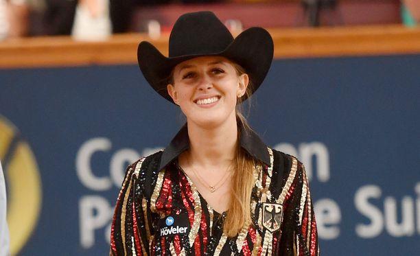 Gina-Maria Schumacherin Corinna-äiti on myös innokas hevosharrastaja.