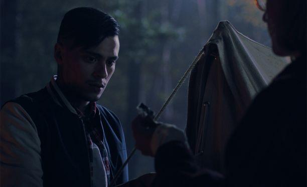 Räppäri Mikael Gabriel on yksi elokuvan tähdistä.