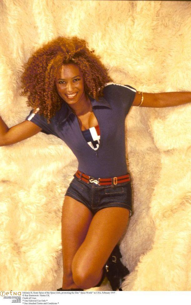 Tältä Mel B. näytti Spice Girls-aikoina.