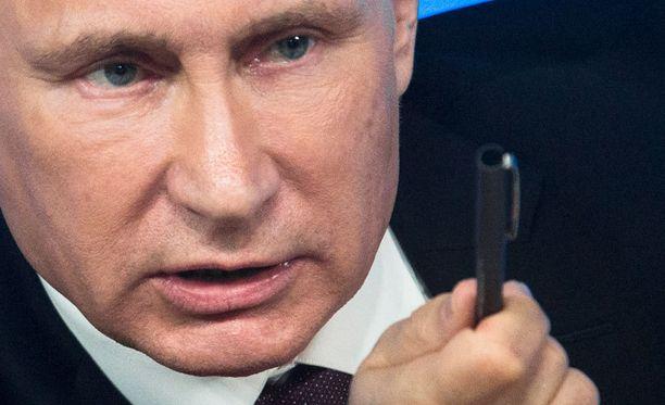 Presidentti Vladimir Putinin Venäjä on erittäin riippuvainen öljyn ja kaasun viennistä.