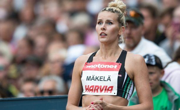 Kristiina Mäkelä loisti Kalevan kisoissa viime viikonloppuna.