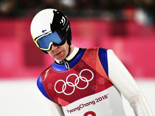 Janne Ahonen kuului vielä reilu vuosi sitten Suomen olympiajoukkueeseen.