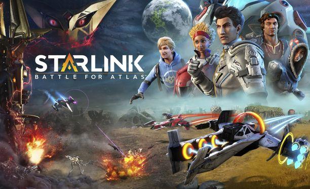 Starlink: Battle of Atlas tarjoaa hauskaa avaruusseikkailua.