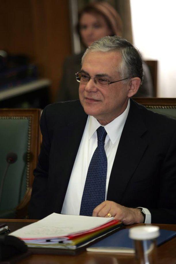 Loukas Papadimos.