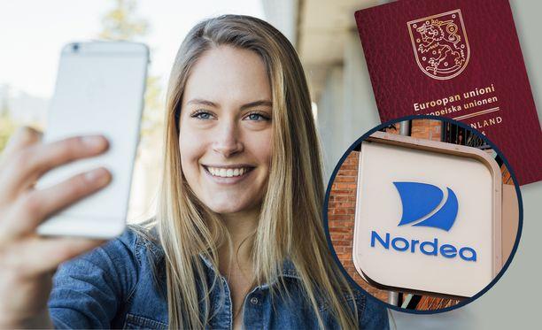 Nordea kertoo helpottavansa asiointia mahdollistamalla lisätietojen lähettämisen sähköisesti.