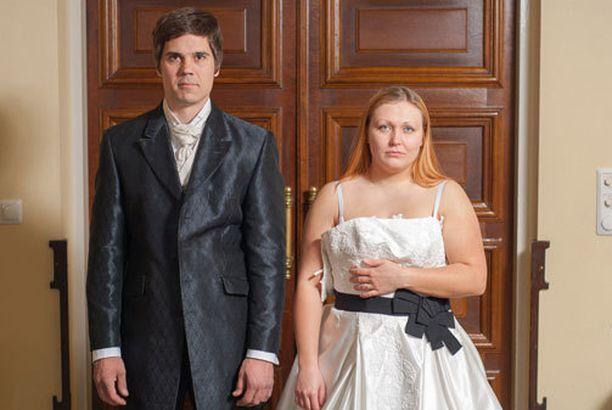 Asser ja Johanna laihduttavat illan Jutta ja huikeat häädieetit -ohjelman jaksossa.