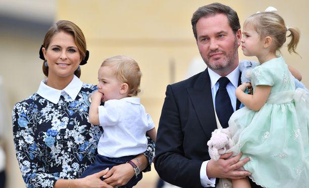 Madeleinella ja Chrisillä on kaksi lasta: Nicolas ja Leonore.