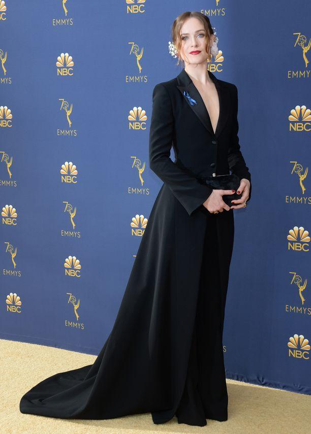 Evan Rachel Wood pukeutui Altuzarran ajattomaan iltapukuun.