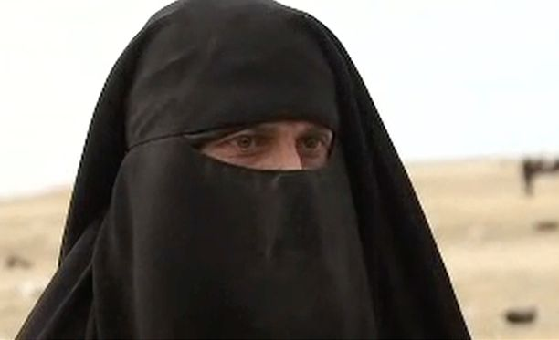 Sannaksi nimetty nainen esiintyi CNN:n videolla.