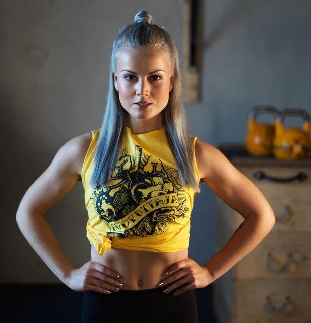 Fitnessbloggaaja Janni Hussi lähti mukaan kampanjaan.