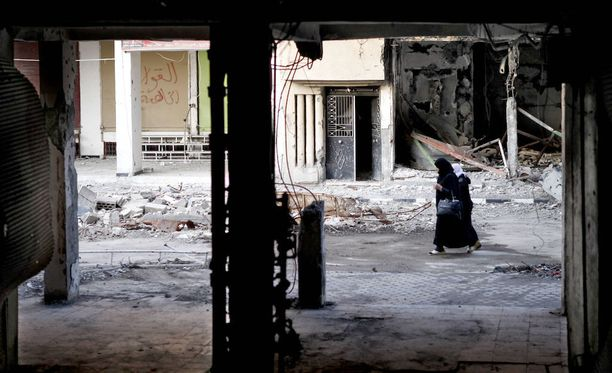 14 siviiliä kuoli maanantaina kranaattitulessa Syyriassa. Kuvituskuva