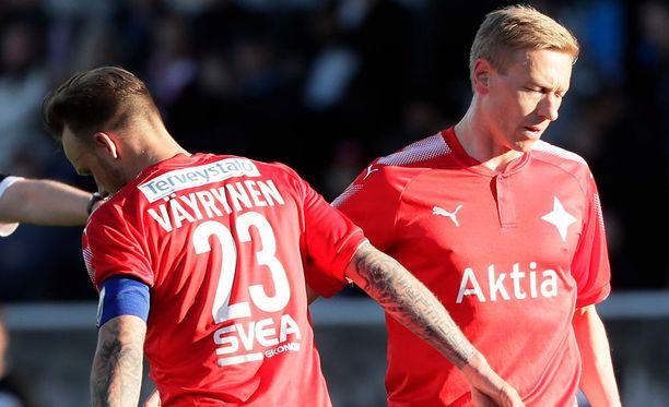HIFK luottaa hyökkäyspäässä tähän konkarikaksikkoon.