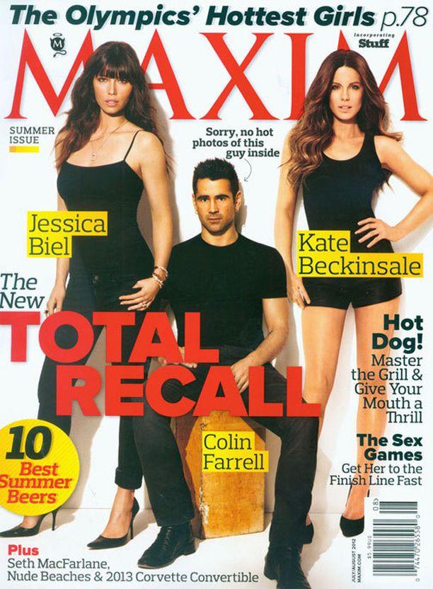 Kate kertoo pöksyvihastaan tuoreessa Maxim-lehdessä.