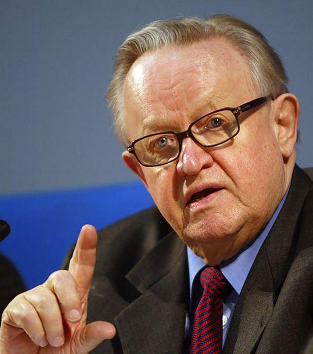 Ahtisaari on työskennellyt konfliktien välittäjänä muun muassa Acehissa ja Kosovossa.