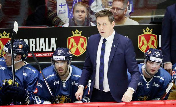 Lauri Marjamäki johdatti Leijonat torstaina 4-2-voittoon Tšekistä.