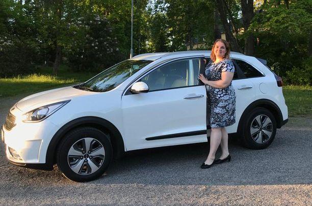 Chat-palvelusta löytyi Minna Granrothille sopiva tapa tehdä autokauppoja.