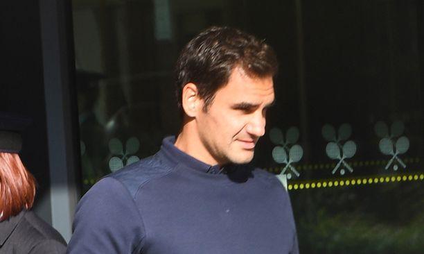 Roger Federer on suurin suosikki Wimbledonin miesten kaksinpelin voittajaksi.