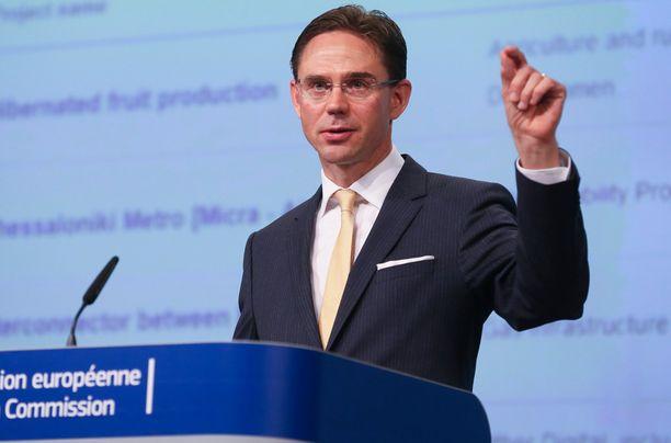 Jyrki Katainen on yksi EU-komission varapuheenjohtajista.