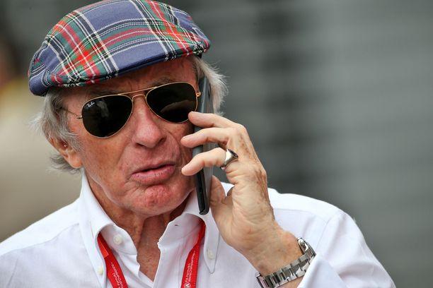 Jackie Stewart on kolminkertainen maailmanmestari ja yksi F1-historian suurimmista legendoista.