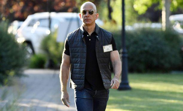 Amazonin perustaja Jeff Bezos on menestynyt noudattamillaan opeilla huikean hyvin.