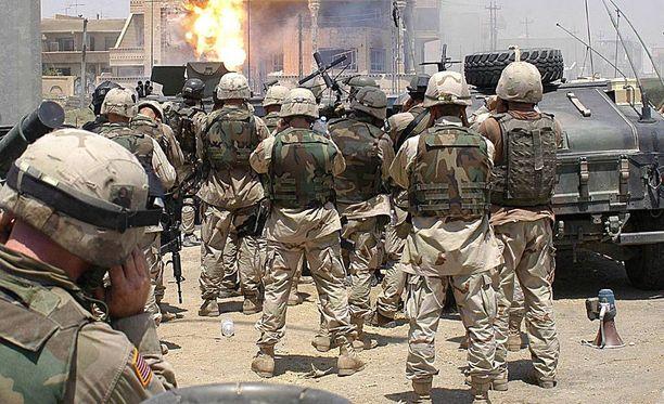 Delta Force aloitti tuoreimman operaationsa Irakissa äskettäin.
