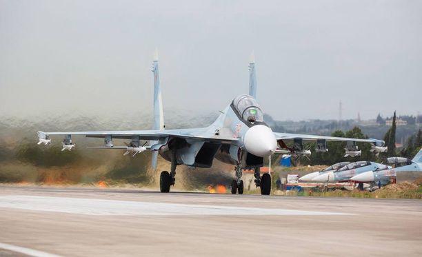 Yhdysvaltojen mukaan venäläiset hävittäjät ovat häirinneet Yhdysvaltain koneita Itämerellä. Kuvituskuva.