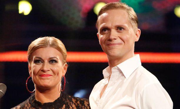 Kirsi Alm-Siira ja Marko Keränen jättivät viime viikon pettymyksen taakseen.