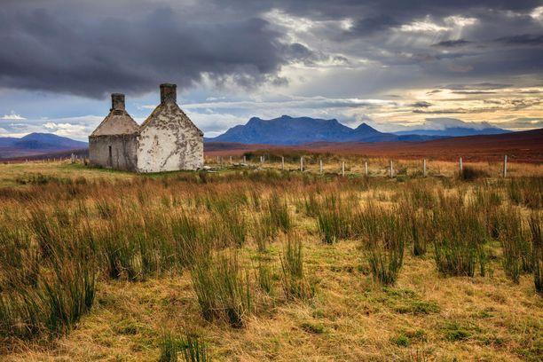 Moine Hon autiotalo sijaitsee Koillis-Skotlannissa. Maalaukselliselle paikalle aikoinaan rakennettu raunio on suosittu kuvauskohde.
