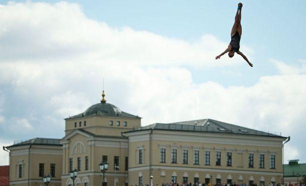 Yana Nestsiarava pokkasi pronssia.