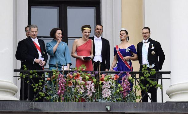 Kuningas Haraldin ja kuningatar Sonjan syntymäpäiviä juhlitaan Oslossa.
