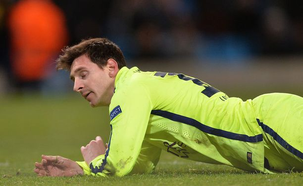 Leo Messin tuplavirhe kostautui Barcelonalle. Argentiinalainen epäonnistui rankkarissaan.