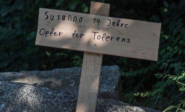 14-vuotiaan Susanna F:n tapaus on liikuttanut saksalaisia.