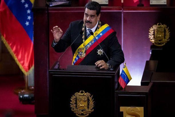 Nicolas Maduro on johtanut Venezuelaa itsevaltaisin ottein.