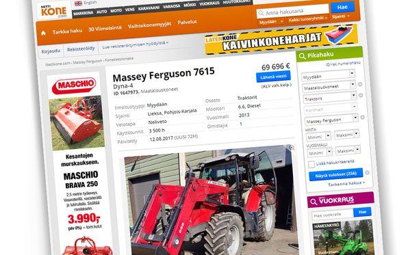 Marko Laatikainen myy traktoriaan hauskalla myynti-ilmoituksella.