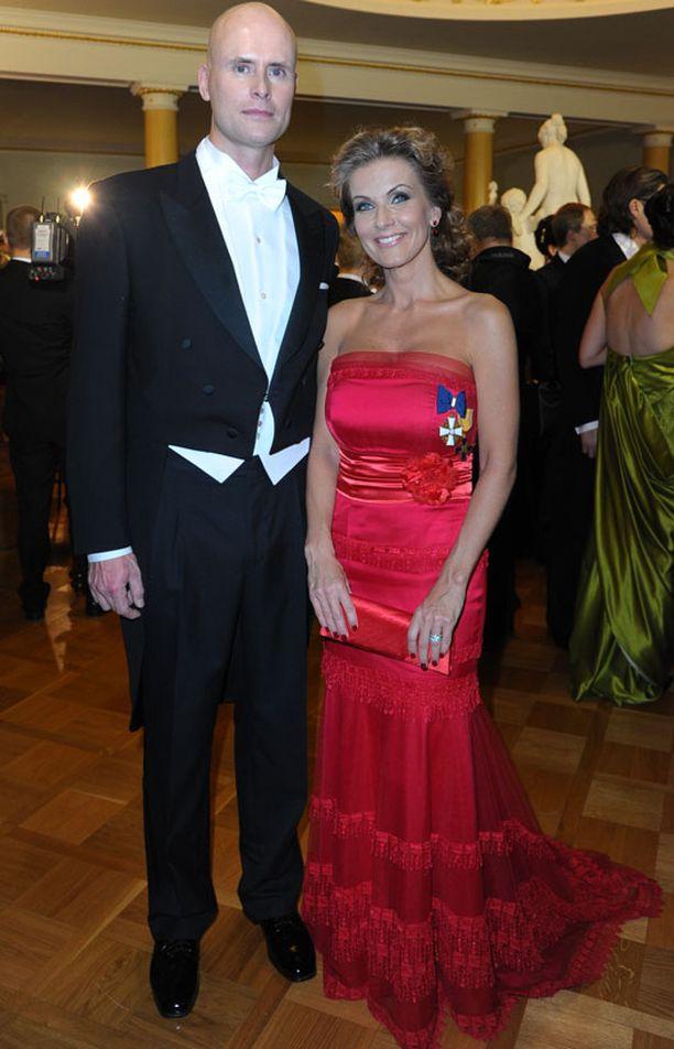 Janne Erjola ja Tanja Karpela