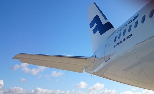 Jo toinen Finnairin A350-tyypin kone joutui kääntymään takaisin Helsinki-Vantaalle.