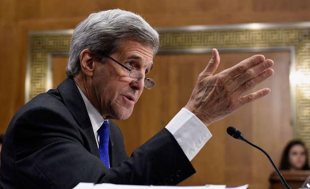 Kerry ei halunnut täsmentää, mitä kaikkea varasuunnitelma pitää sisällään.