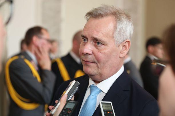 Antti Rinne nimetään perjantaina hallitustunnustelijaksi.