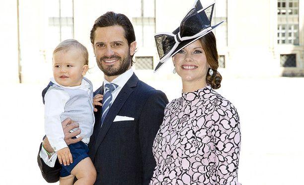 Prinssi Carl Philipin perhe kasvoi tänään.