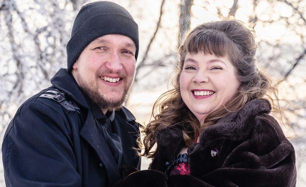 Tero ja Katja tapasivat toisensa vuonna 2019 Facebookin keskusteluryhmässä, joka oli tarkoitettu Etelä-Pohjanmaan yli 40-vuotiaille sinkuille.