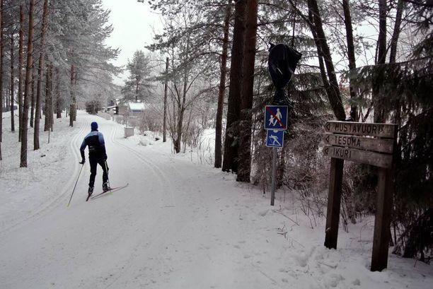 Pääsiäisenä pääsee todennäköisesti hiihtämään lähes koko maassa.
