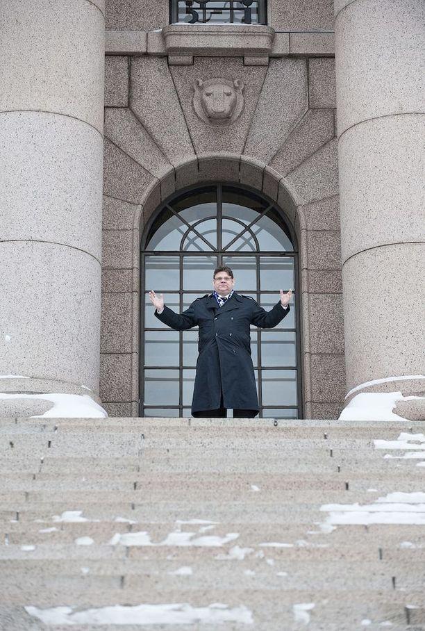 Joulukuussa 2010 Timo Soini oli valmis tulevan kevään eduskuntavaaleihin.