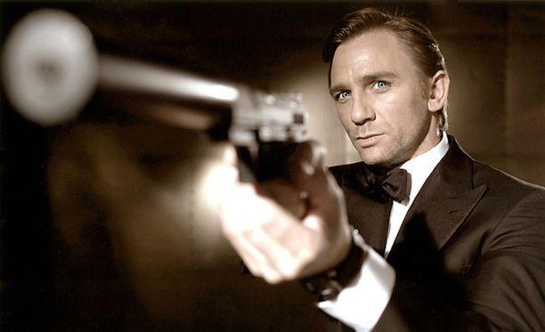 Daniel Craig on James Bondin roolissa pian jo viidettä kertaa.