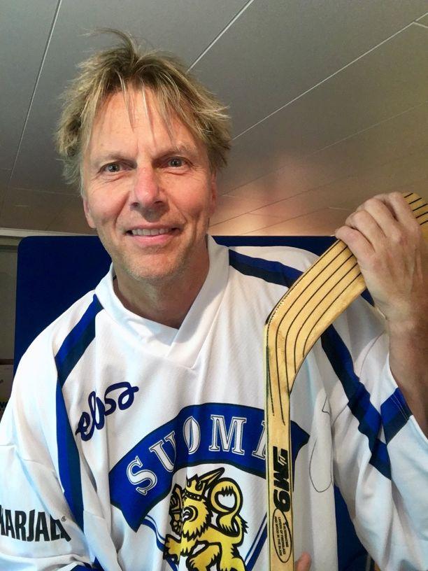 Peter Karlsson kannattaa Suomea, kun Ruotsi ei ole pelissä mukana.