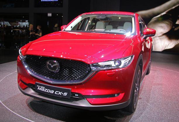 Mazda CX-5. Esiteltiin ensin USA:ssa ja nyt pääsi Eurooppaan.